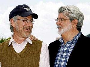 Steven Spielberg und George Lucas